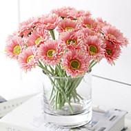 פוליאסטר חינניות פרחים מלאכותיים