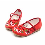 Flats Spring Fall Ballerina Light Up Shoes Silk Casual Flat Heel Pink Red Fuchsia