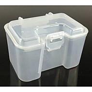 Transparent live bait box
