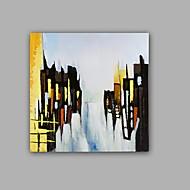 Pintados à mão Abstrato PaisagemClássico Realismo 1 Painel Tela Pintura a Óleo For Decoração para casa