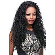 8-24 אינץ פאות שיער אדם מלא תחרת glueless מתולתל פרואני שיער תחרה מלאת בתולה מתולתלת קינקי 100% שיער פאות שיער אדם עבור נשים שחורות