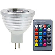 MR16 3W 280LM RGB DC 12V LED Lamp 16 Color LED Spot Light with IR Remote Controller LED Bulb