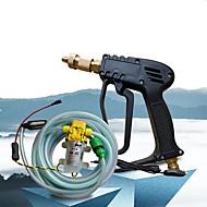xiangshun bil / home vask sprøjte 10m rør 12v vandpumpe høj presure bærbare cleanning udstyr