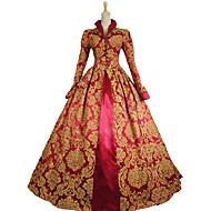 Steampunk®Queen Elizabeth I / Tudor Gothic Jacquard Dress Royal Queen Ball Gown Theatrical Women Costume