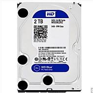 WD 2TB Hard Disk Drive Desktop 5400rpm 3.0 SATA (6Gb / s) 64MB מטמון 3.5 אינץ'-WD20EZRZ