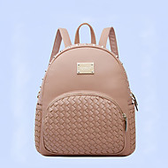 HOWRU® Women 's PU Backpack/Tote Bag/Leisure bag/Travel Bag-Gold/Almond