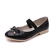 Tyttöjen Sandaalit Comfort laahustaa saappaat Välkkyvät kengät PU Kevät Syksy Talvi KausaliteettiComfort laahustaa saappaat Välkkyvät