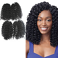 Pre-bue hekles Braids Hårforlengelse 9Inch Kanekalon 1 Package For Full Head Strand 170g gram Hair Braids