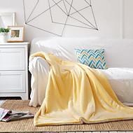 Flanela Como na Imagem,Sólido Sólido Lã / Acrílico cobertores