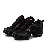 Chaussures de danse(Or Fuchsia) -Non Personnalisables-Talon Bottier-Tissu-Moderne