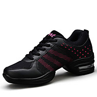 Na míru-Dámské-Taneční boty-Taneční tenisky-Kůže-Kačenka-Černá Žlutá Červená Bílá