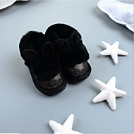 Bebê-Botas-Outro-RasteiroCouro Ecológico-Ar-Livre Casual