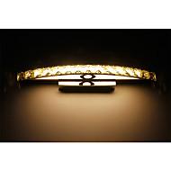 Lâmpadas de Parede/Iluminação de Banheiro - Metal - Cristal/LED - Moderno/Contemporâneo