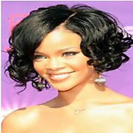 laço do cabelo humano imagem peruca estilo ondulado completa brasileiro virgem para mulheres afro-americanas