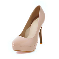 Women's Heels Spring Summer Fall Fleece Office & Career Casual Party & Evening Stiletto Heel White Black Red Almond