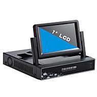 7 polegadas 4 canais 960p / 720p com HDMI e p2p lcd nvr