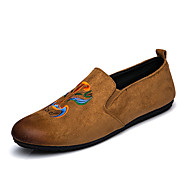 Men's Fashion Loafers & Slip-Ons Casual Shoes Walking Flat Youth Chinese wind Opera Mask Shoes