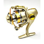 FDDL® Mini Metal Fishing Spinning Reel 12+1 Ball Bearing Gear Rate 5.2:1 Interchangeable Handle