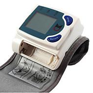 החלק העליון של הזרוע מוניטור לחץ דם אוטומטי אחסון זיכרון תצוגת זמן סוללה Plastic