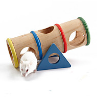 Rodents Cages Toy Wood Multicolor