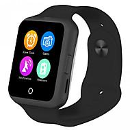 m4x smarttelefonen 1,22 tommers mtk6261 søvn monitor hjertefrekvens test kamera stillesittende påminnelse alarm