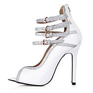 Sandály-PU-Pohodlné-Dámské-Bílá-Svatba Šaty Party-Vysoký