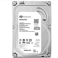 Seagate 2TB Área de trabalho do disco rígido 7200 SATA 3.0 (6Gb / s) 64MB esconderijo 3.5 polegadas-ST2000DM001