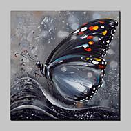 Maalattu Eläin Pop öljymaalauksia,Moderni Realismi 1 paneeli Kanvas Hang-Painted öljymaalaus For Kodinsisustus
