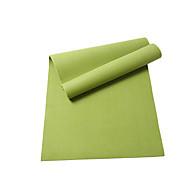 Yoga Mats Eco Friendly Libre de Olores 8.0 mm Azul Verde Naranja Morado Morado Oscuro Other
