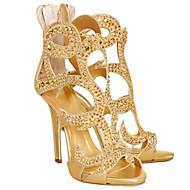 נשים-מגפיים-סוויד-נעלי מועדון נוחות חדשני-שחור-שמלה מסיבה וערב-עקב סטילטו
