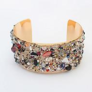 Žene Široke narukvice Legura Moda Jewelry Crn Zelen Plava Pink Jewelry 1pc