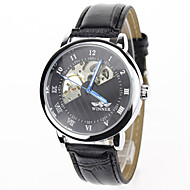 Men's Women's Unisex Sport Watch Dress Watch Fashion Watch Wrist watch Mechanical Watch Mechanical manual-winding Genuine Leather Band