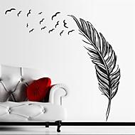 Zátiší Samolepky na zeď Samolepky na stěnu Ozdobné samolepky na zeď,Vinyl Materiál Snímatelné Home dekorace Lepicí obraz na stěnu