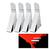 4pcs Stainless Steel Tablecloth Table Cover Clips Holder Clamps Party Picnic Hot