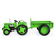 トラクター おもちゃ 車のおもちゃ 1:18 ABS プラスチック メタル グリーン プラモデル&組み立ておもちゃ