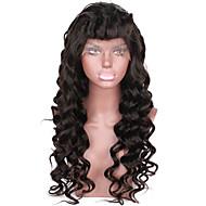 alta qualidade de cabelo virgem glueless rendas completa perucas de cabelo humano brasileiro para as mulheres negras peruca cheia do laço