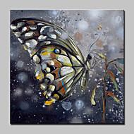 Pintados à mão Animal Pop Pinturas a óleo,Moderno Realismo 1 Painel Tela Pintura a Óleo For Decoração para casa