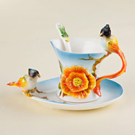 Novelty Drinkware Tea Cup Wine Glass Water Bottle Coffee Mug 1 PC Ceramicwith High Quality