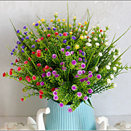1 ענף פלסטיק חוט Others Others פרחים לשולחן פרחים מלאכותיים 7*7*29