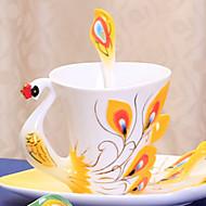 Copos Inovadores Xícaras de Chá Copos de Vinho Garrafas de Água Canecas de Café Chá e Bebidas 1 PC Cerâmica, -  Alta qualidade