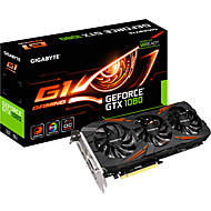 GIGABYTE video graphics card GeForce GTX1080 G1 GAMING Windforce OC 1695-1835MHz/10010MHz 8GB/256bit GDDR5X