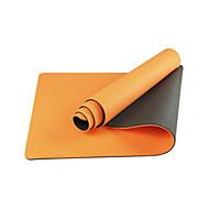 Yogamattor Miljövänlig Luktfri 6 mm Rosa Grön Orange Lila Other