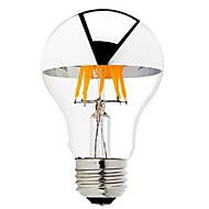 6W B22 E26/E27 LED žárovky s vláknem G60 6 COB 600 lm Teplá bílá Stmívací AC 220-240 AC 110-130 V 1 ks