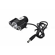 Stirnlampen Radlichter Fahrradlichter leuchten LED Cree XM-L T6 Radsport Wasserdicht 360° Drehbar 18650 Lithium-Batterie 400 Lumen