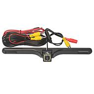 駐車支援システムの無線車のリアビューカメラのオート12LED CCD 1080 HDはバックミラーユニバーサルバックアップカメラ防水ナイトビジョンを逆転します