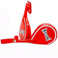 Boxhandschuhe für Boxen Kampfsport Fitness Taekwondo Wasserdicht Isoliert Kunstleder Rot