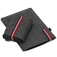 애플 맥북 공기 / 충전기 팩 노트북 가방 프로 13.3 15.4 인치 슬리브는 간단한 레저 스타일의 노트북 가방 단색 느낌