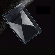 MMP-1 Ultra-Slim PVC 5X Business Card Magnifier - Transparent