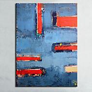 Kézzel festett Absztrakt Csendélet Vízszintes,Modern Európai stílus Egy elem Hang festett olajfestmény For lakberendezési
