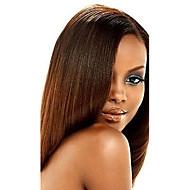 Tissages de cheveux humains Cheveux Indiens Yaki 12 mois 1 Pièce tissages de cheveux